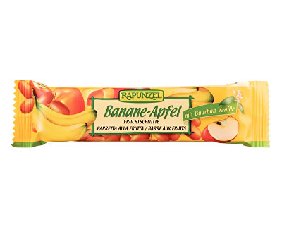 Rapunzel Bio tyčinka Banán-Jablko 40g