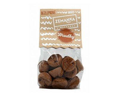 Biopekárna Zemanka Bio Bezlepkové čokoládové hrudky 100 g