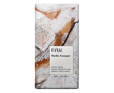 VIVANI Bio bílá křupavá čokoláda 100g
