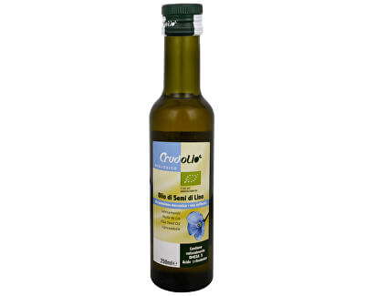 Country Life Bio Olej lněný 250 ml