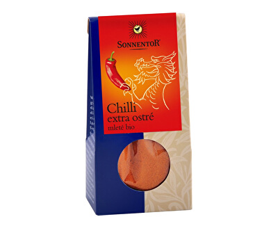 Sonnentor Bio Chilli mleté, extra ostré 40g