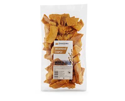 Damodara Sezamové chipsy150g