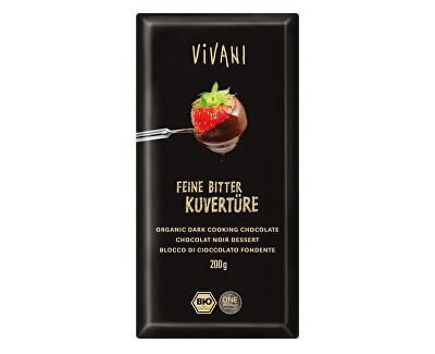 VIVANI Bio Čokoláda na vaření hořká 200g