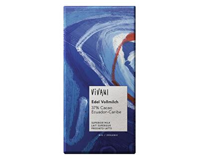 VIVANI Bio mléčná čokoláda Ekvádor 100 g