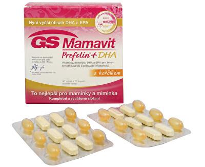 GS Mamavit Prefolin + DHA 30 tbl. + 30 kapslí