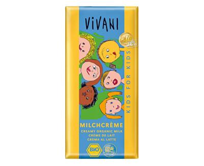 VIVANI Bio Kids čokoláda mliečna s náplňou 100g