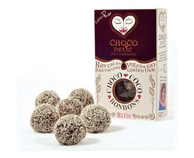 Choco delic Kuličky z RAW čokolády s kokosem 90g BIO