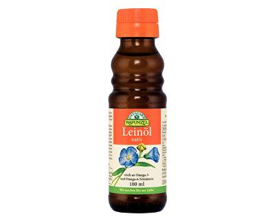 Rapunzel Bio lněný olej lisovaný za studena 100ml