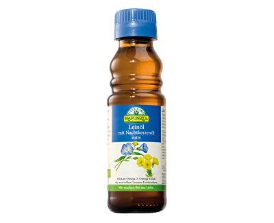 Bio ľanový olej lisovaný za studena s pupalkou 100ml