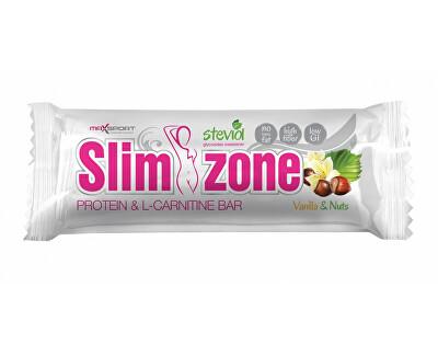 Max sport Tyčinka Slim zone vanilka oříšek 40 g