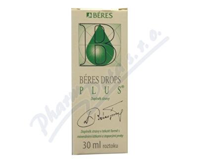 Béres Pharmaceuticals Ltd., Budapest Béres Drops Plus 30ml