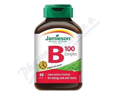 JAMIESON LABORATORIES JAMIESON B-komplex 100mg s postupným uvolň.tbl.60