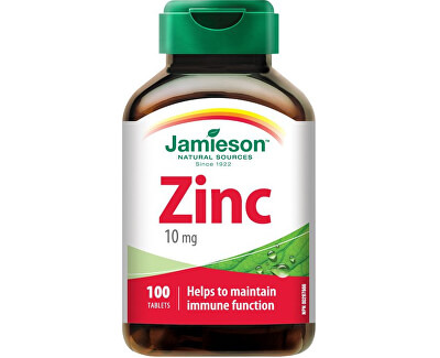 JAMIESON LABORATORIES JAMIESON Zinok 10mg tbl.100