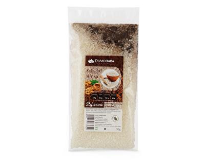 Damodara Instantní kaše do hrnku rýžová s vlašskými ořechy a karobem 50g