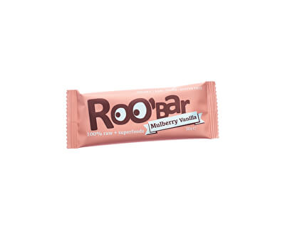 Roobar Bio tyčinka Roobar Datlová  moruše vanilka 30g RAW