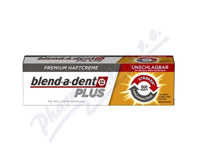 PROCTER GAMBLE Blend-a-Dent upev. krém Plus Dual Power 40g