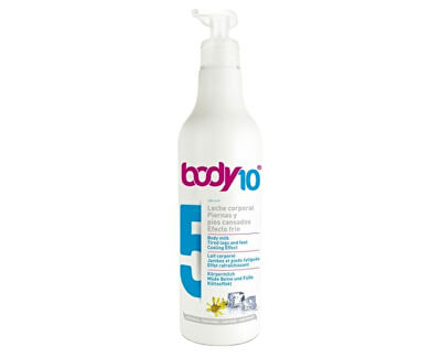 Diet Esthetic Tělové mléko na unavené nohy a chodidla s chladivým účinkem Body 10 (Body Milk Tired Legs and Feet Cooling Effect 5) 500 ml