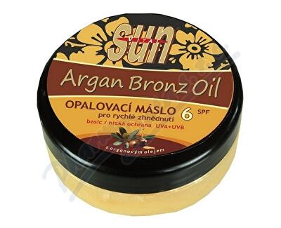 VIVACO S.R.O. SUN Bronz OPALOVACÍ MÁSLO OF6 s argan.olejem 200ml