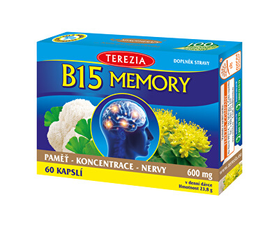 Terezia Company B15 Memory 60 kapsúl