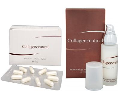 Collagenceutical - biotechnologická emulze na vyplnění vrásek 30 ml + Collagenceutical 60 kapslí ZDARMA