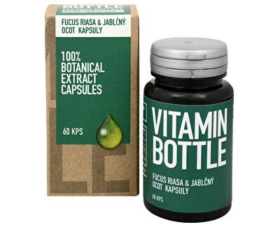 Vitamin-Bottle Fucus řasa a jablečný ocet 60 kapslí