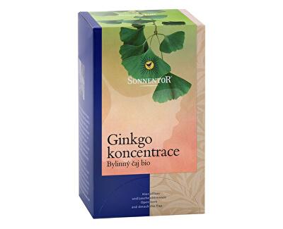 Sonnentor Bio Ginkgo koncentrace porcovaný dárkový 20g