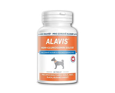 Alavis ALAVIS™ MSM + Glukosamin sulfát 60 tbl.