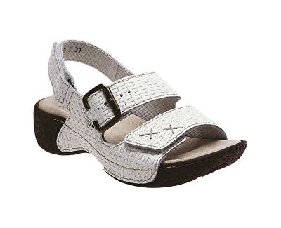 N pantofi de sănătate pentru femei / 109/2/01 alb