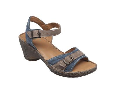 N pantofi de sănătate pentru femei / 309/7/84/43 albastru
