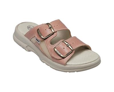 Zdravotní obuv dámská N/517/31/49/S/SP lososová
