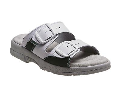 Pantofi de sănătate pentru femei profesionist N / 517/33/10 alb