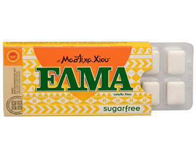 ELMA guma de mestecat fără zahăr 10 buc