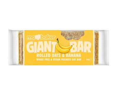 GIANT BAR Tyčinka ovesná Giant bar Obří  Banánová 90g