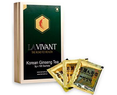 La Vivant LAVIVANT Instantný čaj z kórejského ženšenu 100 ks