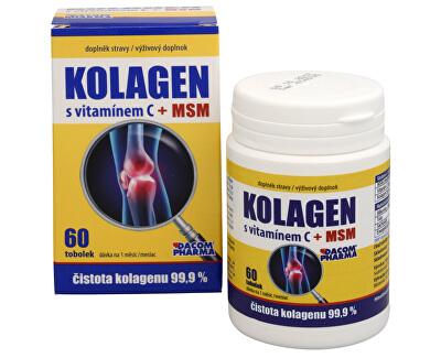 Colagenul cu Vitamina C + MSM 60 Caps.