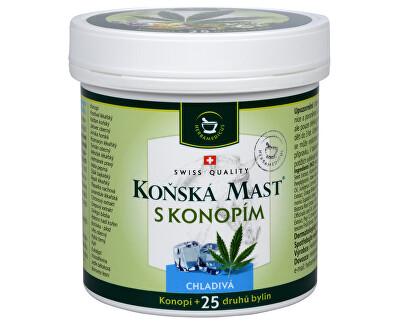 Herbamedicus Koňská mast chladivá s konopím 250 ml