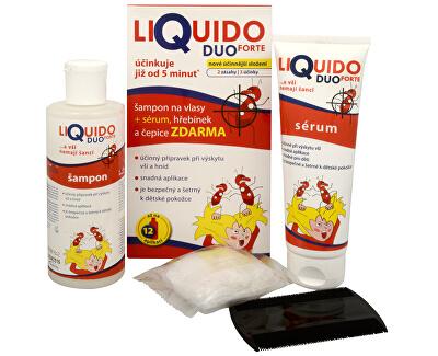 Simply You LiQuido DUO FORTE šampón na vši 200 ml + sérum 125 ml ZADARMO