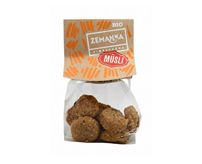 Biopekárna Zemanka Bio Müsli kolečka s medem 100 g