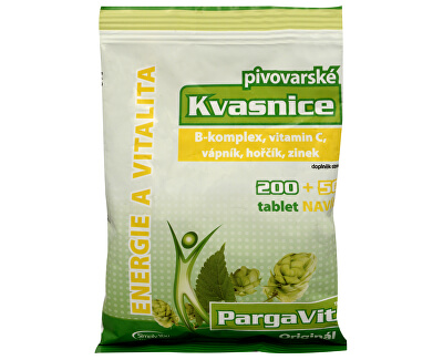 Simply You PargaVit Pivovarské kvasnice Bifi Original 200 tbl. + 50 tbl. ZADARMO