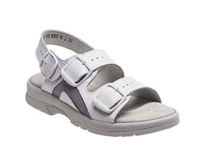 Zdravotní obuv Profi dámská N/517/41S/10 bílá