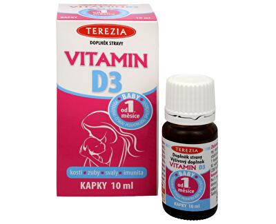 Terezia Company Vitamín D3 10 ml