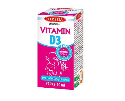 Vitamín D3 10 ml