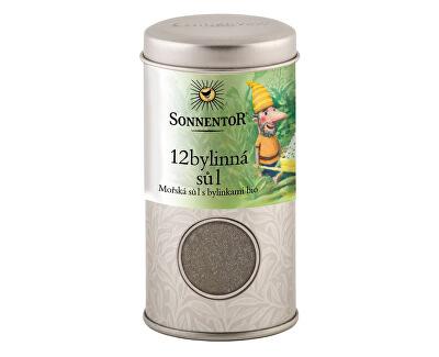 Sonnentor Bio 12-tich bylinná soľ 75g - v dóze