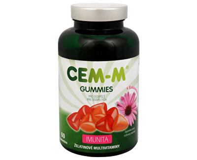 CEM-M Gummies pro dospělé IMUNITA 60 želatinových tbl.