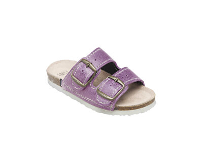 Zdravotná obuv detská D / 202/76 / BP fialová