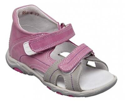 Zdravotná obuv detská N / 950/802/73/13 ružová