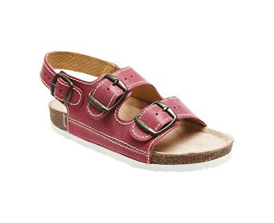 SANTÉ Zdravotní obuv dětská D/302/C30/BP červená