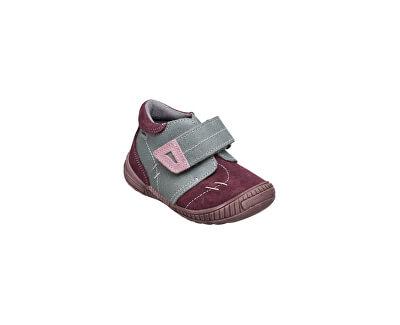 SANTÉ Zdravotní obuv dětská N/661/401/19/77/56 šedo-růžová