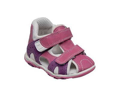SANTÉ Zdravotní obuv dětská N/810/301/45/75 růžová