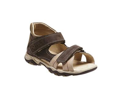 SANTÉ Zdravotní obuv dětská N/950/802/53/14 hnědá